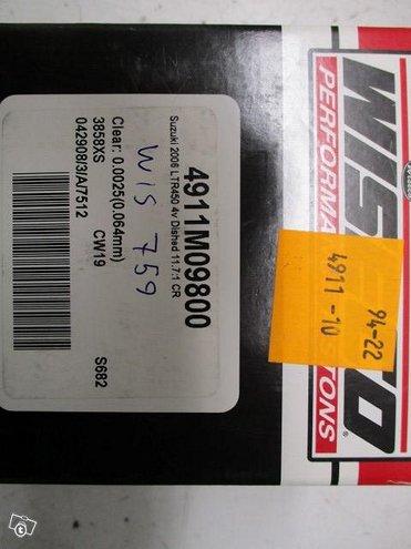 Wiseco Mäntäsarja 2006-11 Suzuki LT-R450 98.00mm