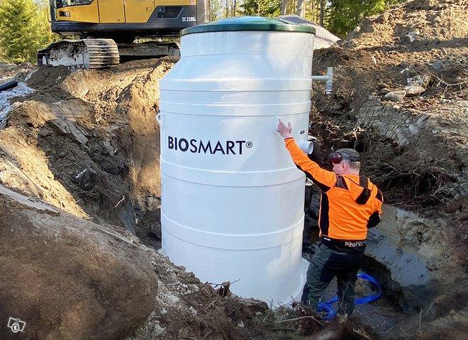 BIOSMART® pienpuhdistamo jätevedelle