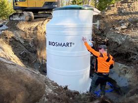 BIOSMART® pienpuhdistamo jätevedelle, Muu rakentaminen ja remontointi, Rakennustarvikkeet ja työkalut, Seinäjoki, Tori.fi