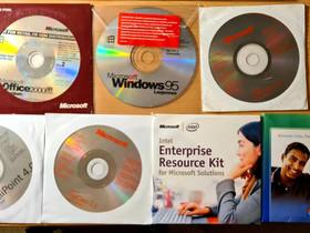 Microsoft levyjä, Tietokoneohjelmat, Tietokoneet ja lisälaitteet, Lappeenranta, Tori.fi