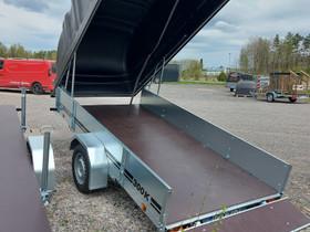 JT-300-35SE mustalla kuomulla, on varastossa, Peräkärryt ja trailerit, Auton varaosat ja tarvikkeet, Hanko, Tori.fi