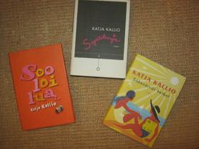 Katja Kallio: kolme kirjaa, Imatra/posti, Kaunokirjallisuus, Kirjat ja lehdet, Imatra, Tori.fi