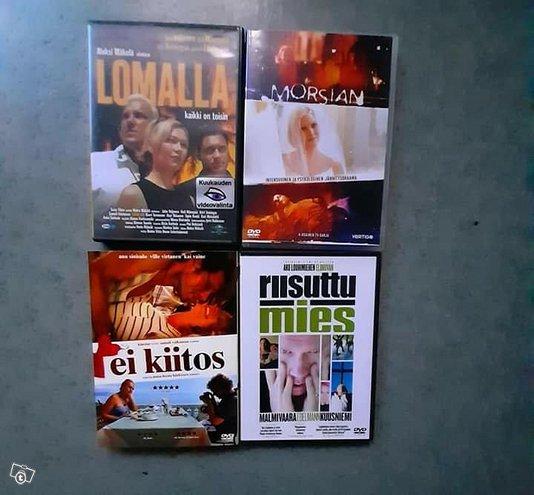 Suomalaisia elokuvia dvd