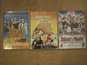 Asterix kolme dvd-elokuvaa, Imatra/posti, Elokuvat, Imatra, Tori.fi