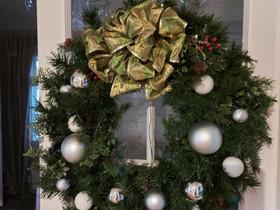 Joulu kranssi havukranssi led valoilla tai ilman, Sisustustavarat, Sisustus ja huonekalut, Kouvola, Tori.fi