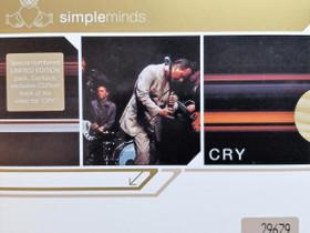 Simple Minds - Cry erikoispainos CD-levy, Musiikki CD, DVD ja äänitteet, Musiikki ja soittimet, Kangasala, Tori.fi