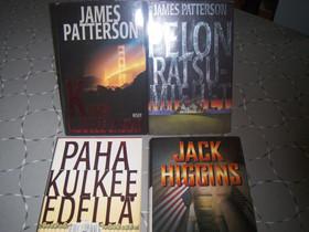 Patterson James 3 kpl , Higgins Jack 1 kpl, Kaunokirjallisuus, Kirjat ja lehdet, Oulu, Tori.fi