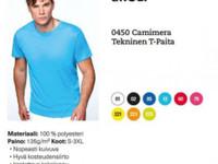 0450 Camimera Tekninen T-Paita