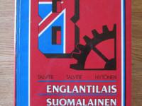 Englantilais-suomal. tekniikan ja kaupan sanakirja