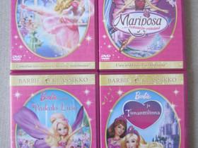 Barbie lasten dvd:t neljä erilaista, Imatra/posti, Elokuvat, Imatra, Tori.fi