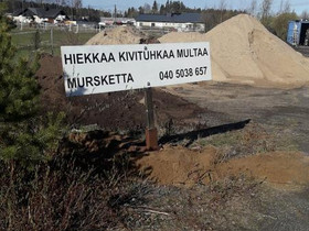 Hiekka ja mursketoimitukset edullisesti, Muu rakentaminen ja remontointi, Rakennustarvikkeet ja työkalut, Kempele, Tori.fi