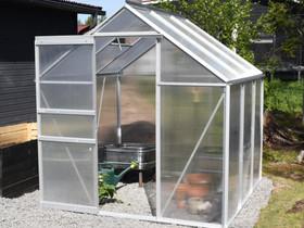 Green Land alumiinirunkoinen kasvihuone 3,6 m², Muu piha ja puutarha, Piha ja puutarha, Pieksämäki, Tori.fi