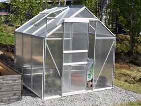 Green Land alumiinirunkoinen kasvihuone 2,3m², Muu piha ja puutarha, Piha ja puutarha, Pieksämäki, Tori.fi