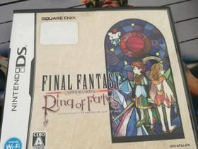 DS: Final Fantasy: Ring of Fates (JAPANI), Pelikonsolit ja pelaaminen, Viihde-elektroniikka, Helsinki, Tori.fi