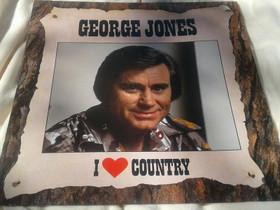 I love country - George Jones, Musiikki CD, DVD ja äänitteet, Musiikki ja soittimet, Loppi, Tori.fi