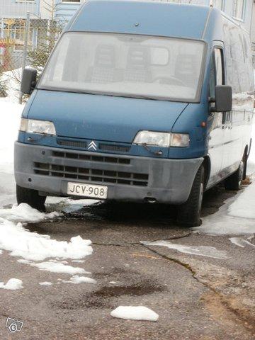 Kevyt kuorma-auto 2.5TD Citroen Jumper vm.1999