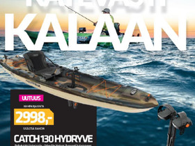 Catch 130 hydryve, Soutuveneet ja jollat, Veneet, Pori, Tori.fi