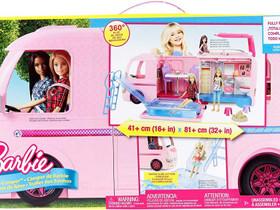 Barbie suuri matkailuauto uusi, Lelut ja pelit, Lastentarvikkeet ja lelut, Nurmijärvi, Tori.fi