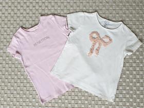 2kpl T-paitoja koko 98cm (Benetton ja Zara), Lastenvaatteet ja kengät, Helsinki, Tori.fi