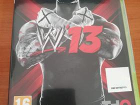 Xbox360: WWE 13 (Vapaapainipeli), Pelikonsolit ja pelaaminen, Viihde-elektroniikka, Helsinki, Tori.fi