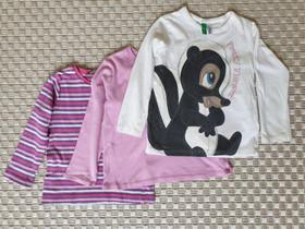3kpl paitoja koossa 98cm (mm. Benetton), Lastenvaatteet ja kengät, Helsinki, Tori.fi