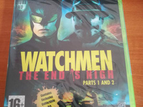Xbox360: Watchmen - The End is NIgh Parts 1 and 2, Pelikonsolit ja pelaaminen, Viihde-elektroniikka, Helsinki, Tori.fi