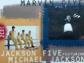 Marvin Gaye / Jacson 5 feat. Michael Jacson 2 CD, Musiikki CD, DVD ja äänitteet, Musiikki ja soittimet, Kangasala, Tori.fi