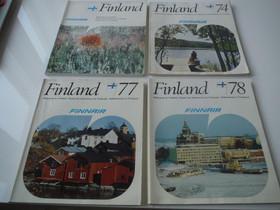 Finnair: Finland -julkaisut -70-luvulta, Muu keräily, Keräily, Kaarina, Tori.fi