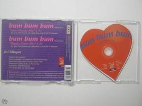 Jari Sillanpää bum bum bum cd-single, Imatra/posti, Musiikki CD, DVD ja äänitteet, Musiikki ja soittimet, Imatra, Tori.fi