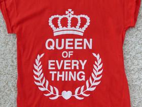 Queen of everything t-paita m, Vaatteet ja kengät, Mikkeli, Tori.fi