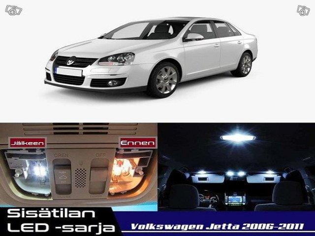 Volkswagen Jetta (MK5) Sisätilan LED -sarja ; x14