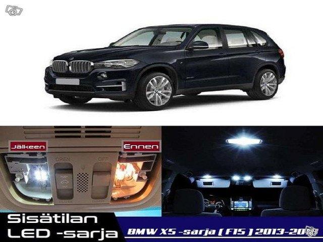 BMW X5 (F15) Sisätilan LED -sarja ;24 -osainen
