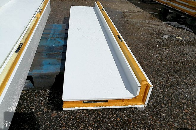 Kylmähuoneen kulmaelementti 230x50x8 cm