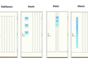 Turner ulko-ovi pystyuraiset, Ikkunat, ovet ja lattiat, Rakennustarvikkeet ja työkalut, Kalajoki, Tori.fi