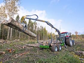 FarMA CT 6.3-9F metsäperävaunu kuormain yhdistelmä, Metsäkoneet, Työkoneet ja kalusto, Joensuu, Tori.fi