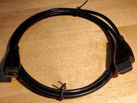 HDMI - HDMI MINI-kaapeli (1 m), Muu viihde-elektroniikka, Viihde-elektroniikka, Helsinki, Tori.fi
