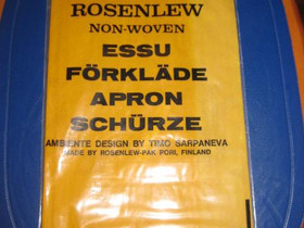 Rosenlew-essu by Timo Sarpaneva, Muu keräily, Keräily, Pori, Tori.fi