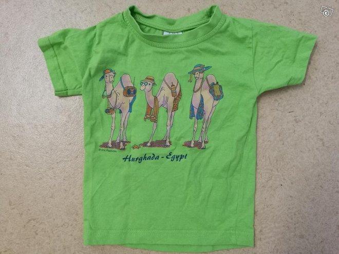 Kameli t-paita 92