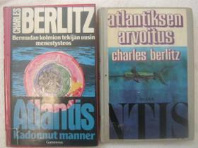 Charles Berlitz kaksi kirjaa, Imatra/posti, Muut kirjat ja lehdet, Kirjat ja lehdet, Imatra, Tori.fi