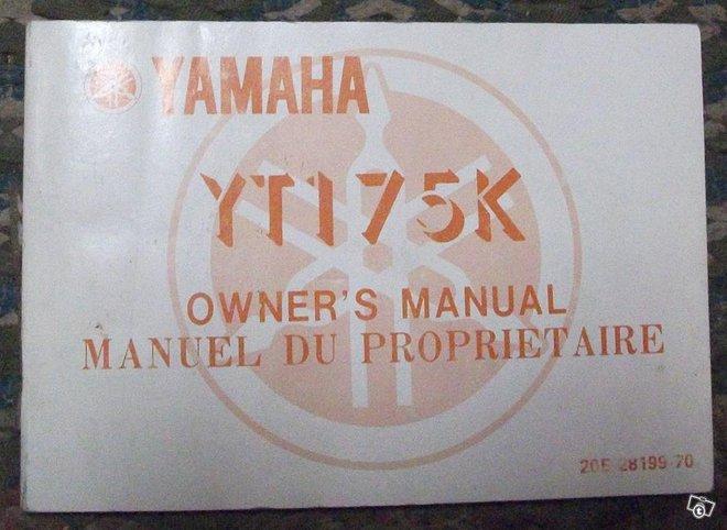 Yamaha YT 175 K mönkijä