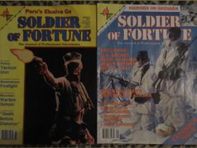 2 kpl SODIERS of FORTUNE lehtiä 80-luvulta, Lehdet, Kirjat ja lehdet, Kouvola, Tori.fi