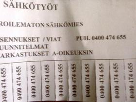 Sähkötyöt, Palvelut, Kuopio, Tori.fi