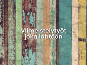 IK-20 Oy - Viimeistelytyöt joka lähtöön, Rakennuspalvelut, Helsinki, Tori.fi