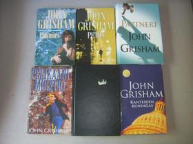 John Grisham kuusi kirjaa, Imatra/posti, Kaunokirjallisuus, Kirjat ja lehdet, Imatra, Tori.fi