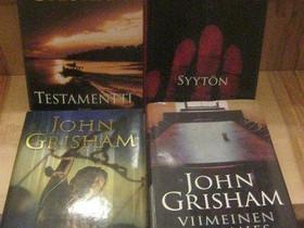 John Grisham neljä kirjaa, Imatra/posti, Kaunokirjallisuus, Kirjat ja lehdet, Imatra, Tori.fi