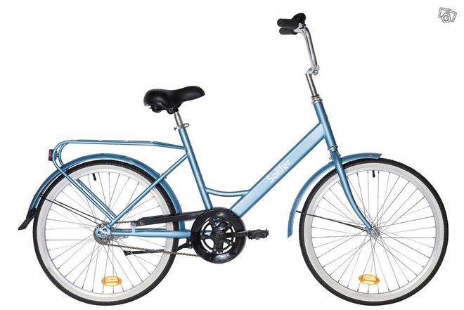 """Solifer Kombi 24"""" 1-v vaalean sininen polkupyörä"""