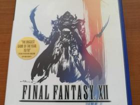 PS2: Final Fantasy XII, Pelikonsolit ja pelaaminen, Viihde-elektroniikka, Espoo, Tori.fi