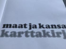 Maat ja kansat karttakirja, Oppikirjat, Kirjat ja lehdet, Hamina, Tori.fi