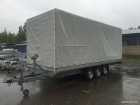 Boro Boss ATLAS 6,1x2,2x2 3500kg Kapelli, Peräkärryt ja trailerit, Auton varaosat ja tarvikkeet, Heinola, Tori.fi