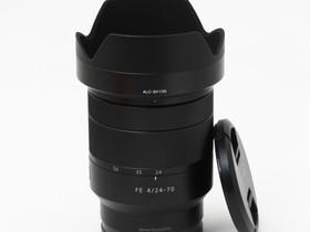 Käytetty Zeiss Vario Tessar T* FE 24-70mm f/4 ZA O, Objektiivit, Kamerat ja valokuvaus, Turku, Tori.fi